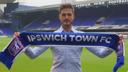 Vaclav Hladky has joined Ipswich Town on a three-year contract