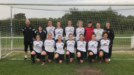 The Tavern Ladies women's football team have a chance to play at Wembley in the BT Cup.