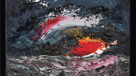 Sunrise by Maggi Hambling will go on auction with money raised going towards a children's charity