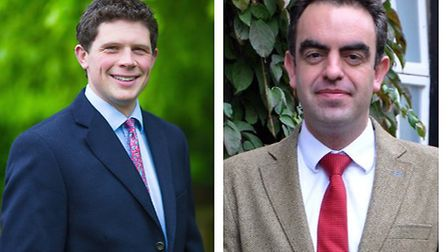 William Chuter (left) who will become Gresham School's deputy head pastoral from September next year