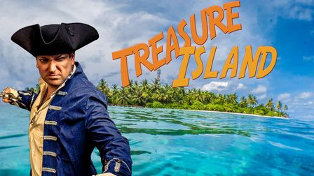 Treasure Island will performedby Strange Fascination Theatre at the Raynham estate's five-acre Walled Garden.