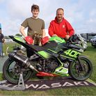 Fred McMullan, 14, said it is a dream come true to be racing a Donington Park.