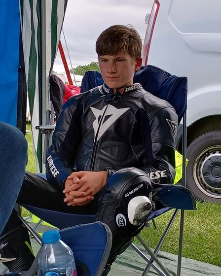Fred McMullan, 14, has been riding since the age of six.