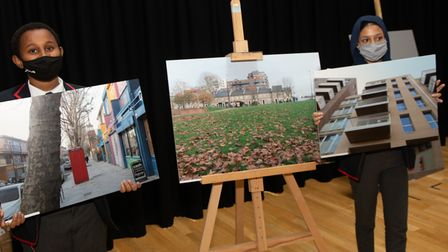 How pupils at Langdon Park see the future of their Aberfeldy neighbourhood