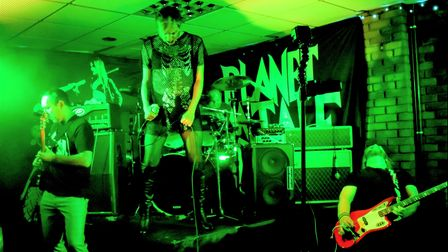 Ely bandFor The Hornetsplayed their first gig in over a year