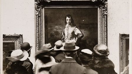 Embargoed to 0001 Wednesday June 30 Undated handout photo issued by the National Gallery of people l