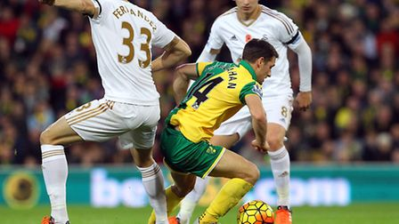Norwich City added the defensive resolve to the mix with a maiden clean sheet against Swansea.