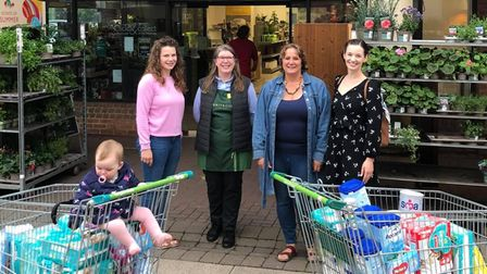 Ely Baby Bank has received a £333 donation from the city's Waitrose.