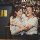 Beverly Rogers, the front-of-house manager of the Rose and Crown Harpley (right) with the pub's Landlady, Alice Darlow (left)