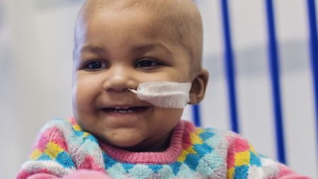 """Layla Richards who has become the first person in the world to receive a """"designer"""" immune cell ther"""