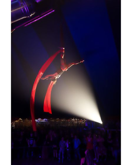 Circus acts will perform over the weekend at the Maui Waui Festival