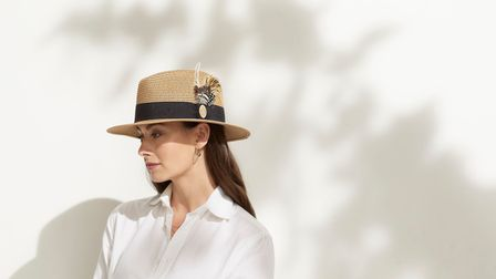 The Aldeburgh Fedora by Hicks and Brown in Natural, £69.00