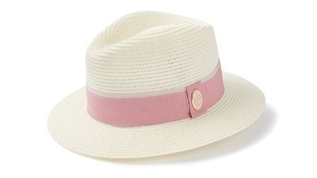 The Orford Fedora (Dusky Pink) by Hicks and Brown, £65
