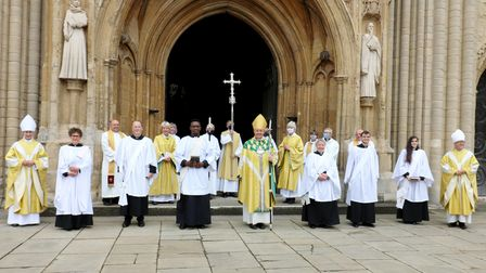 New deacons ordained at Norwich Cathedral. Picture: Diocese of Norwich.