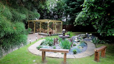 The memorial garden at Hadleigh Nursing Home has been opened to remember all those who were lost as a result of Covid