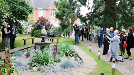 The garden will be enjoyed for generations to come, as a place where people can come and reflect and remember