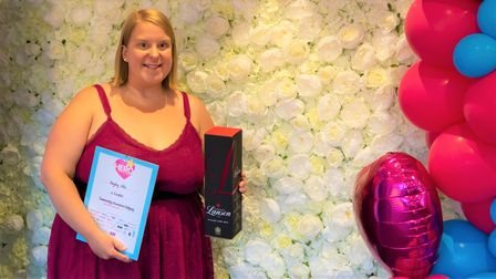 Hayley Ellis was a finalist in the community champion category of the 2021 Ely Hero Awards