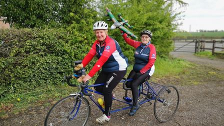 Vera Staines (right)and her daughterMandy Burchett areraising money for theRoyal Air Force Benevolent Fund