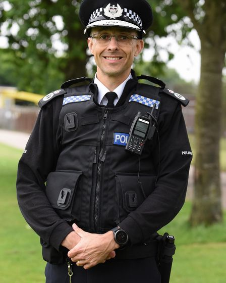 Paul Sanford who is taking over as the new temporary chief constable of Norfolk Constabulary. Pictur