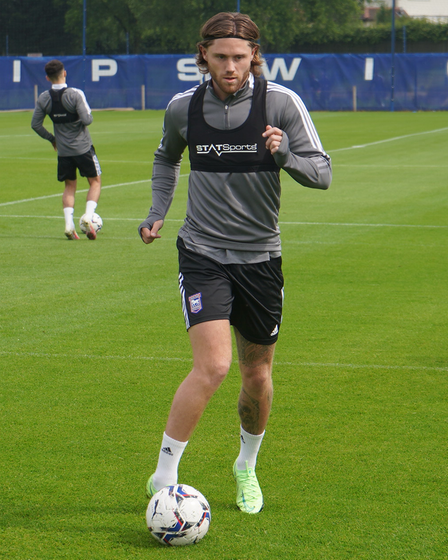 Wes Burns joined Ipswich Town from Fleetwood Town this summer