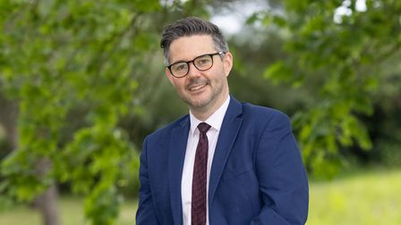 Oliver Burwood, chief executive officer of the Diocese of Norwich Education and Academies Trust.