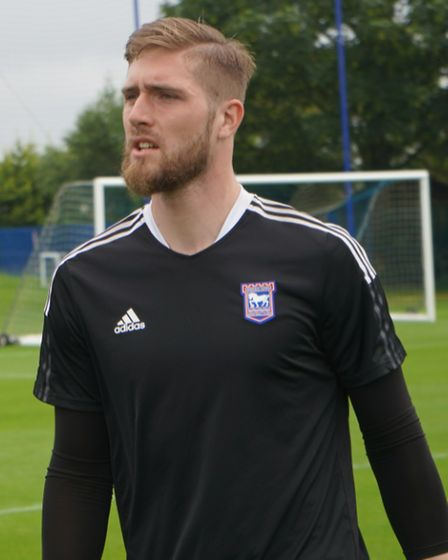 Tomas Holy is heading into his third Ipswich Town season