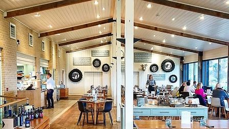 Inside The Cookhouse at Suffolk Food Hall Picture: Melanie Blaikie