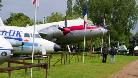 Nice to have a look round the Norfolk and Suffolk Aviation Museum loads to see there