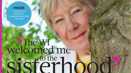 Petra Wenham on the front cover of WI Life