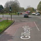 Cyclist injured in hit and run, which happened on Histon Road, Cambridge,near the junction with Gilbert Road