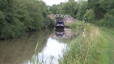 Stratford Canal - near Wilmcote