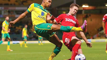 Norwich City youngster Jacob Murphy is in good company at Coventry City on loan. Picture by Richard