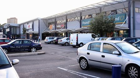The Riverside Retail Park in Norwich. Two new units are set to be built at the site. Picture: DENISE