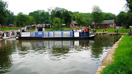 Unless housing plans can be changed, this 2005 reopening of Froghall Lock and Basin is as far as the
