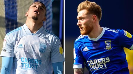 Kayden Jackson and Teddy Bishop are both training with Ipswich Town's Under 23s