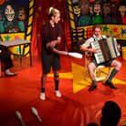 Foolhardy circus perform at the Seagull theatre.