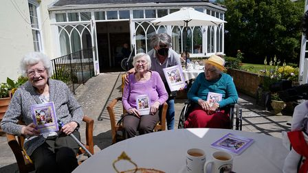 Residents at Woodbridge Lodge care home feature in a brand new cook book showing off their favourite recipes