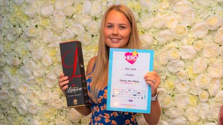 Jess Crowewas a finalist in the sporting hero category of the 2021 Ely Hero Awards