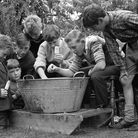 Elmswell church fete in July 1964. Can you tell us what's going on here?EADT 3.9.12