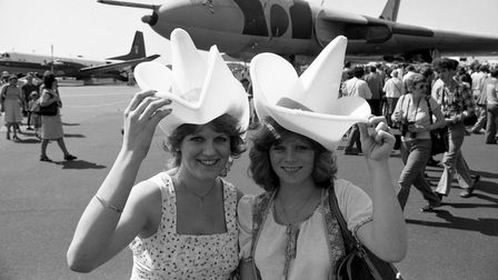 Did you go to the air show at Mildenhall in 1982 Picture: IAN HULLAND