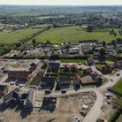 Phase one of Ovins Rise in Haddenham, which is now fully completed by Haddenham Community Land Trust