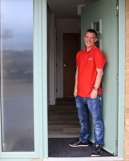 Scott was eager to stay in Haddenham, the Community Land Trust really helped him.