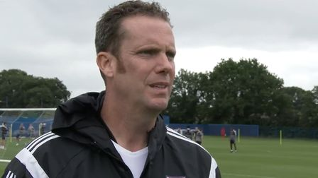 Ipswich Town director of performance Andy Rolls