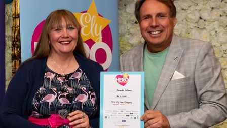 Amanda Hellman was crowned The Ely Hero at the 2021 Ely Hero Awards
