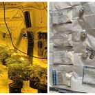 More than £5,000, cocaine and cannabis were recovered in Cambridge.