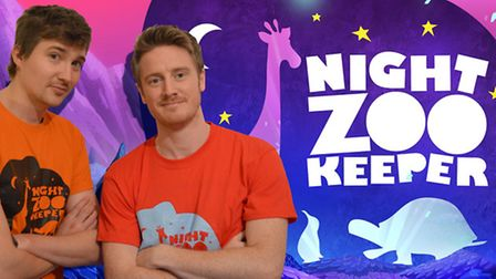 Joshua Davidson and Simon 'Buzz' Burman, who met in Norwich and created the Night Zoo Keeper project