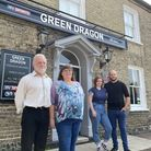 The Green Dragonin Thetford is set to be taken over by a new landlord and landlady Chris and Louise Burden