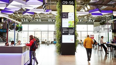 800 start-ups have signed up to Plexal's co-working 'innovation'centre as east London's Olympic legacy.