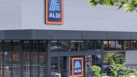 New Aldi store in Gipping Way Stowmarket