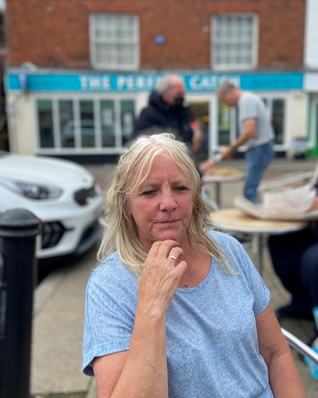 Stephanie Hubbard, 62, a self-employed cleaner from Dereham